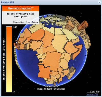 Prism: Infant Mortality in African Countries