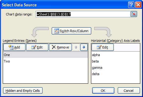 Excel 2007 Source Data Dialog