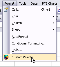 Palette Chooser Menu