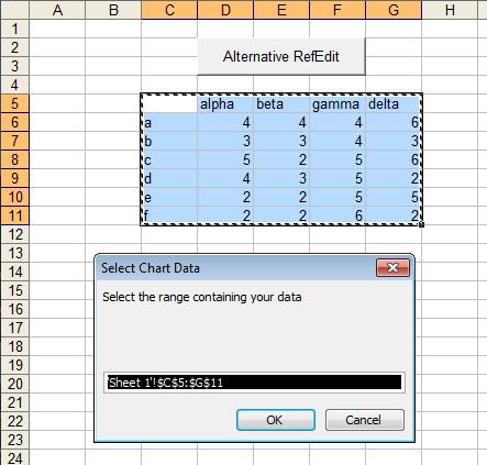 InputBox for Range Selection