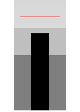 Excel 2007 full-size bullet chart