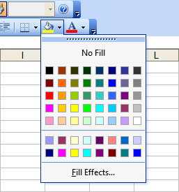 Using Colors in Excel - Peltier Tech Blog