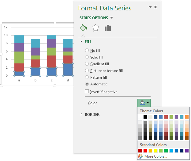 Series Excel 2013 Introduced in Excel 2013