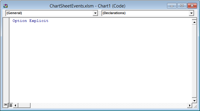 Chart Events in Microsoft Excel - Peltier Tech Blog