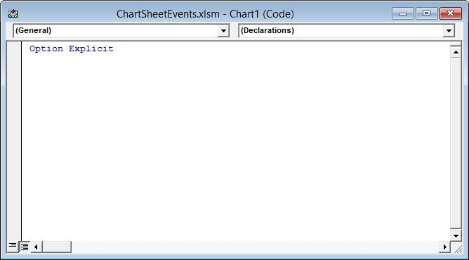 Chart Code Module