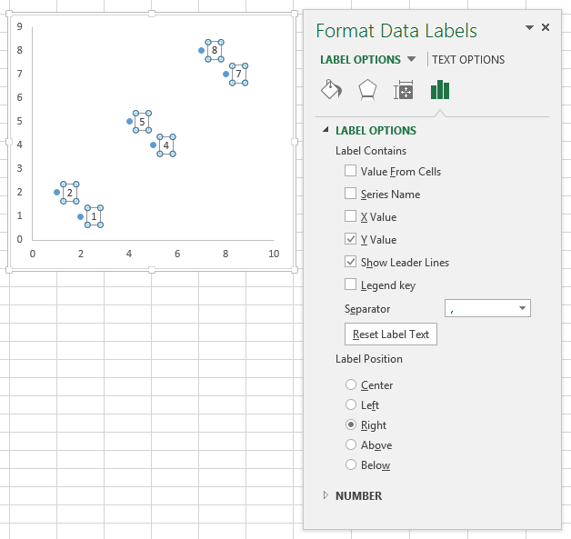 Apply custom data labels to charted points peltier tech blog format data labels task pane ccuart Image collections