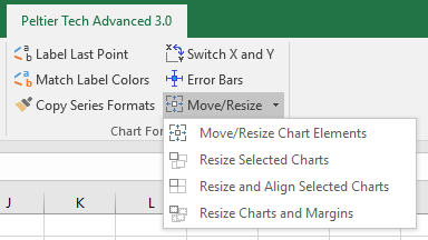 New Chart Resizing Commands