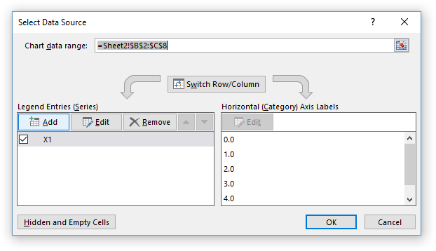 Select Data Source Dialog