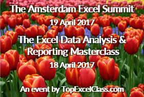 2017 Amsterdam Excel Summit