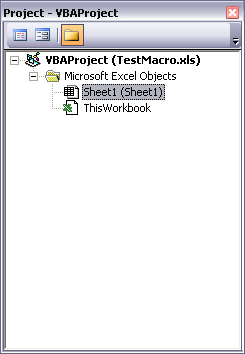 Project Explorer Window