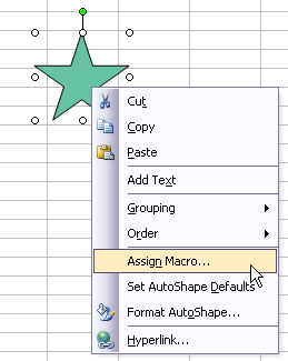 How to assign a macro to a button or shape peltier tech blog assign macro ccuart Image collections
