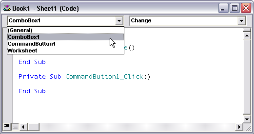 Forms Controls and ActiveX Controls in Excel - Peltier Tech Blog