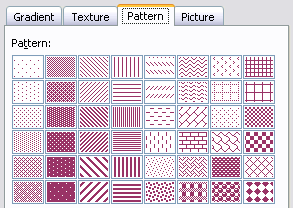 Patterned Fills