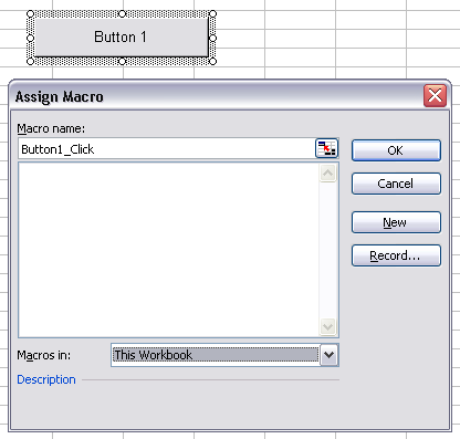Assign Macro to Forms Button