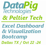 Excel Dashboard and Visualization Boot Camp
