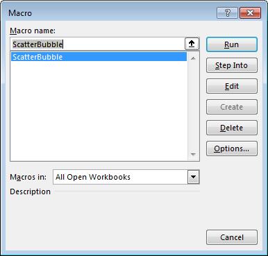Macros Dialog (Alt+F8)