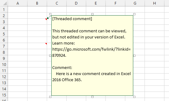 Threaded Comments in Excel - Peltier Tech Blog