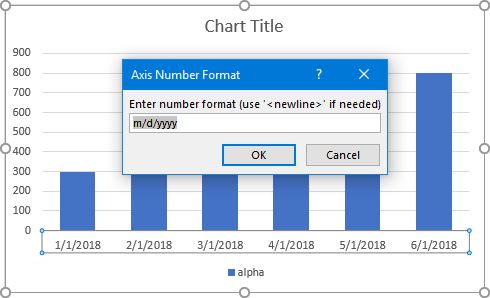 Axis Number Format Dialog 1