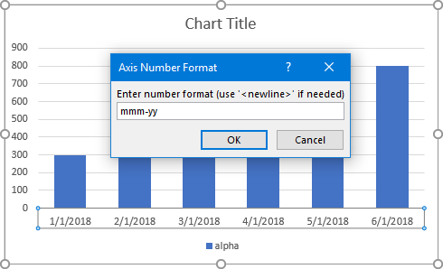 Axis Number Format Dialog 2
