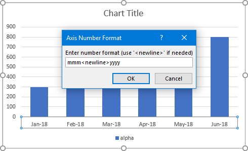 Axis Number Format Dialog 4