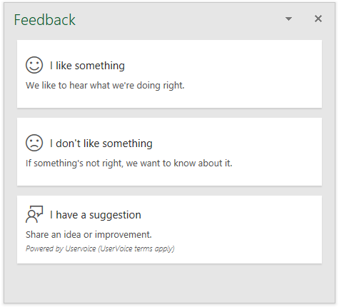 Send Feedback to Microsoft